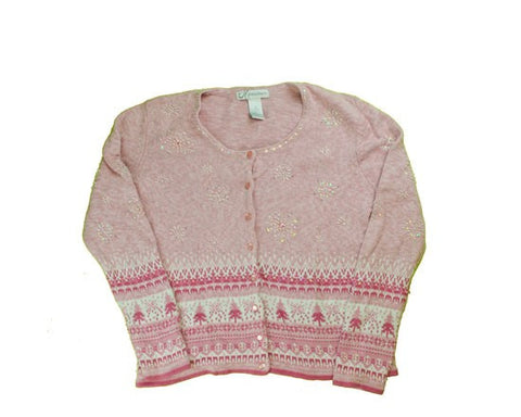 Shades Of Pink-Small Christmas Sweater