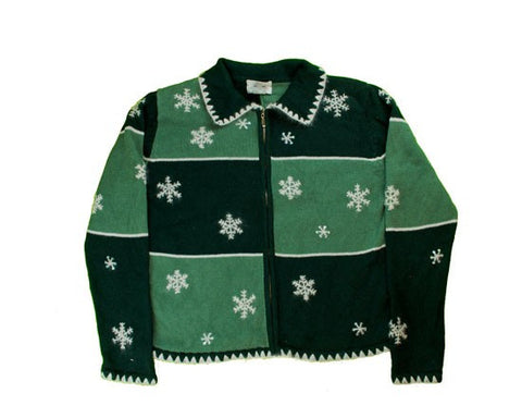 Shades Of Green-Small Christmas Sweater