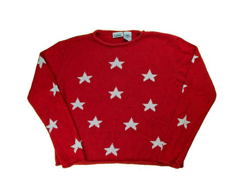 Stars And More Stars-Medium Christmas Sweater