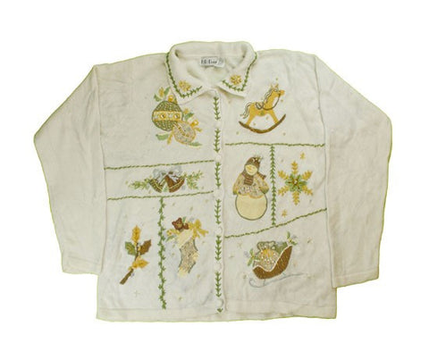 Greens And Gold's-Medium Christmas Sweater