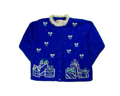 Have A Blue Christmas-Small Christmas Sweater