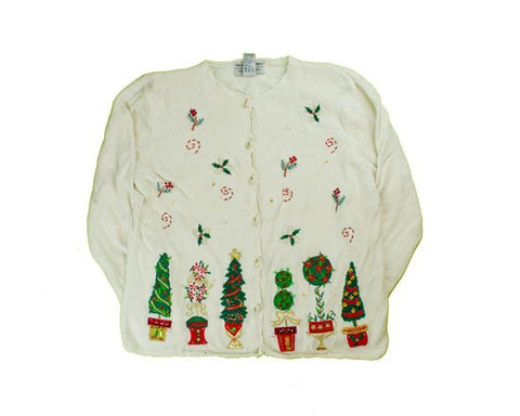 Holly And Trees-Small Christmas Sweater