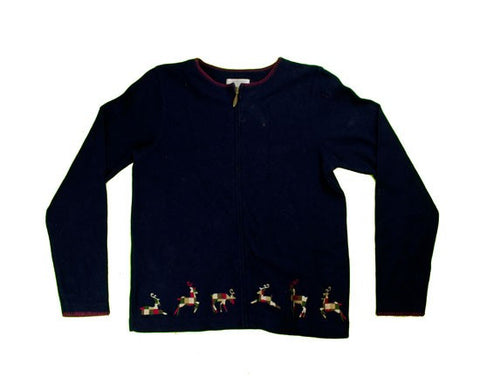 Reindeer-X-Small Christmas Sweater