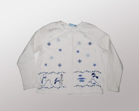 Winter Lights-Medium Christmas Sweater