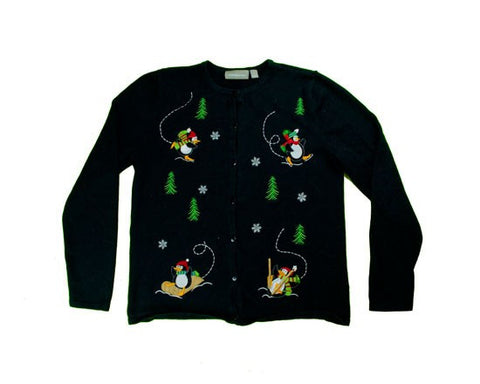 Penguin Fun-X-Small Christmas Sweater