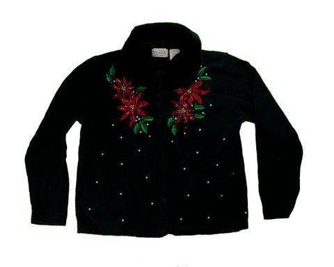 Stitching And Bead work-Small Christmas Sweater