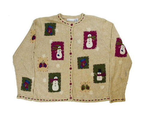 Snow Patches-Small Christmas Sweater