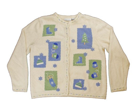 Outdoor Fun-Medium Christmas Sweater