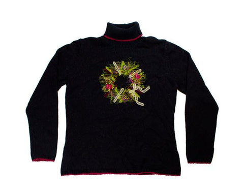Holiday Wreath-X-Small Christmas Sweater