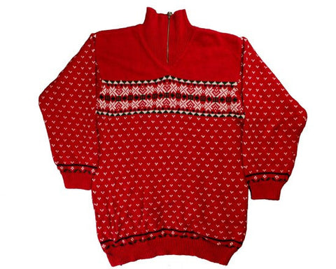 Borders-X-Small Christmas Sweater
