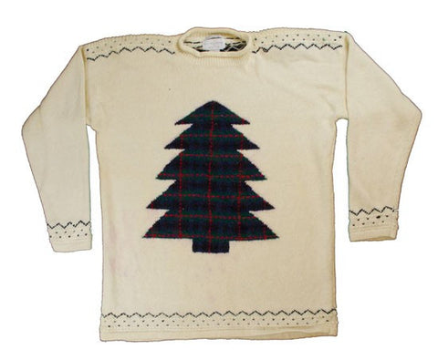 Pattern Tree-Medium Christmas Sweater
