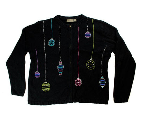 Stitched Ornaments-Medium Christmas Sweater