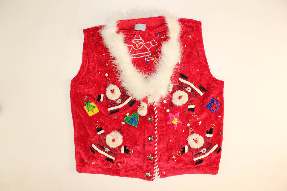 Dancing Santa-Small Christmas Sweater