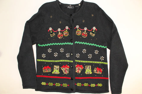 Leapord Packages-X Small Christmas Sweater