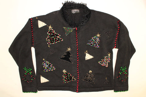 Christmas Tree Galore- Small Christmas Sweater