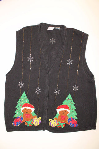 Duo Christmas Bears- Large Christmas Sweater