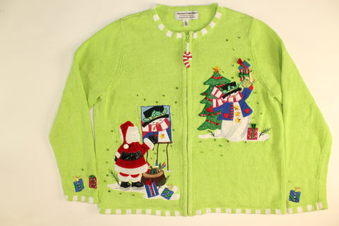 Paintnite Santa- Medium Christmas Sweater