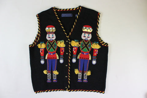 Nutcrackers standing Tall. Size Small,  Christmas sweater