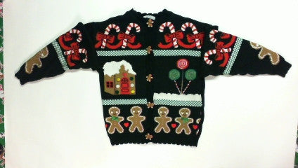 Ginger Bread-Small Christmas Sweater