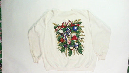 Ornament Wreath-Large Christmas Sweater