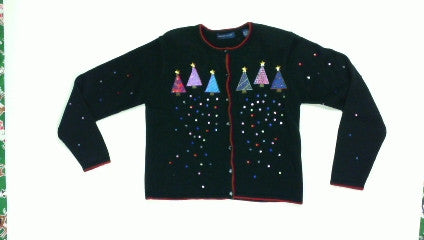 Shine Chrimstmas Tree-Small Christmas Sweater