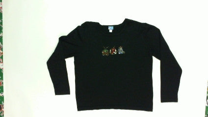 Flashy Presents-Small Christmas Sweater