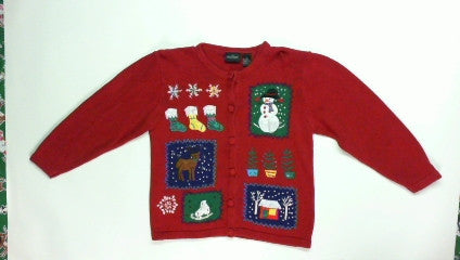 Picture Box-Small Christmas Sweater