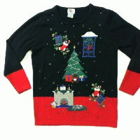 Home Sweet Holiday-Small Christmas Sweater