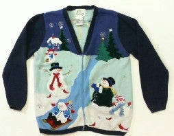 Majic in the Air-Small Christmas Sweater