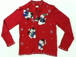 Peek-A-Boos-X Small Christmas Sweater