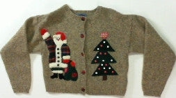 Welcome Holiday-X Small Christmas Sweater