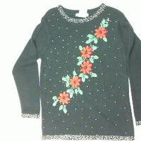 Beaded Elegence-Small Christmas Sweater