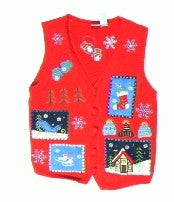 Ski Lodge Vacation-X Small Christmas Sweater