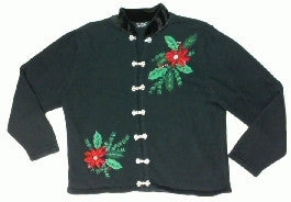 Poinsetta For You-Small Christmas Sweater