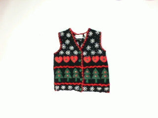 Hearts A Tree-X Small Christmas Sweater