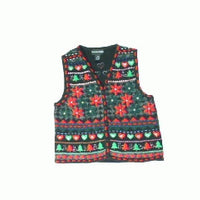 Poinsetta Party-X Small Christmas Sweater