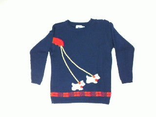 Dog Walking-X Small Christmas Sweater