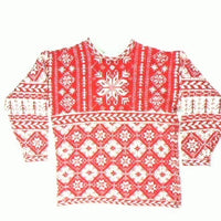 Snowflakes and Wool-Small Christmas Sweater