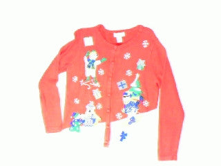 Polar Play-Small Christmas Sweater
