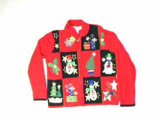 Shining Stars-Small Christmas Sweater