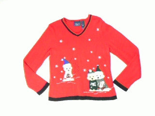 Puppy Sweaters two-X Small Christmas Sweater