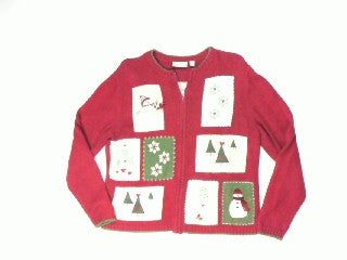 Hearts A Trees-Small Christmas Sweater