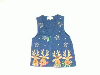 Rudolf Costume Party-X Small Christmas Sweater