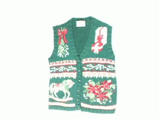 Rocking Mistletoe-Small Christmas Sweater