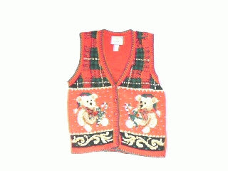 Story Book Teddy Bear-Small Christmas Sweater