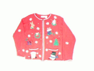 Raising the Christmas Icons-Small Christmas Sweater