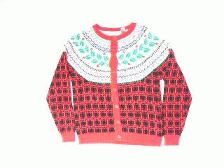 Holly Berry Garland-X Small Christmas Sweater