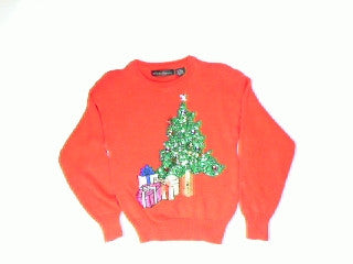 Shimmer Shine and Jingle Tree-X Small Christmas Sweater