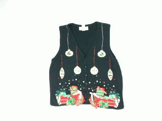 Ornaments  Dropping Bling-Small Christmas Sweater