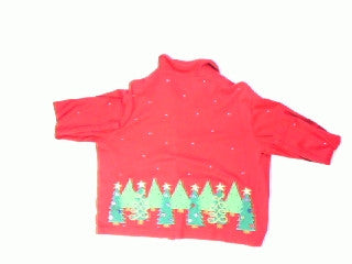 Christmas Trees Everywhere-X Small Christmas Sweater